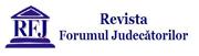 Logo Revista Forumul Judecatorilor